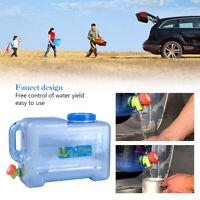 Wasserkanister Trinkwasser Behälter Camping Auto 12L Wassertank Eimer inkl. Hahn