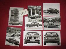 N°4602  /  BMW : 8   photos constructeurs  série 7  / 7er-Reihe