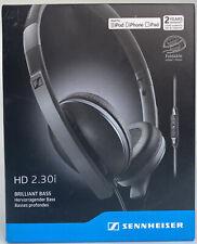 Sennheiser HD 2.30i Brilliant Bass On-ear Stereo Wired Headphones BRAND NEW