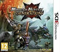 MONSTER HUNTER GENERATIONS - NINTENDO 3DS & 2DS - NEW & SEALED - UK RELEASE