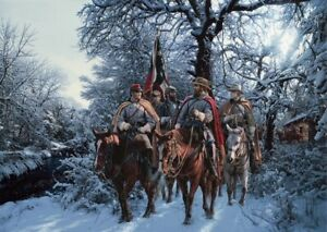 """John Paul Strain """"Onward Christian Soldier"""" Signed & Numbered Limited Edition"""