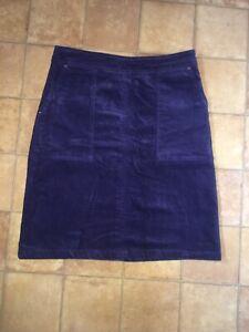 White Stuff Purple Skirt, Size 8, Very Good Condition