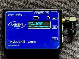 Ambient Recording Tiny Lockit Timecode Generator and Transceiver #ACN-TL