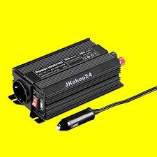 SPANNUNGSWANDLER 12V/DC auf 230V/AC +5V-USB Spannung-Wandler 300 W KFZ-Converter