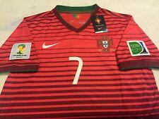 PORTUGAL RONALDO SOCCER JERSEY FIFA WORLD CUP BRAZIL 2014 REAL MADRID BARCELONA