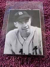 1972 TCMA The 1930's Patrick McLaughlin #489 Detroit Tigers