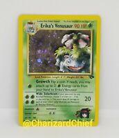 Erika's Venusaur Holo Rare Gym Challenge Set Collection Pokemon Card 4/132 Foil