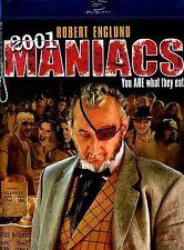 ROBERT ENGLUND // 2001 Maniacs (BRAND NEW BLU-RAY)  Travis Tritt, Lin Shaye,