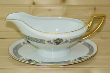 "Thomas Bavaria The Brunswick Gravy Boat With Attached Underplate 9 1/2"" x 6"""