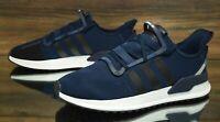 Adidas U_Path Run Blue Black White EE7162 Running Shoes Men's Size 12 NEW