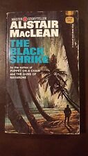 """Alistar MacLean,"""" Black Shrike,"""" 1970, Fawcett Gold Medal M2340, VG-, 1st"""