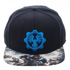 OFFICIAL GEARS OF WAR 4 - PHOENIX OMEN SYMBOL SNAPBACK CAP WITH PRINTED VISOR