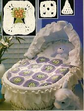 BEAUTIFUL Rockabye Baby Afghan/Crochet Pattern INSTRUCTIONS ONLY