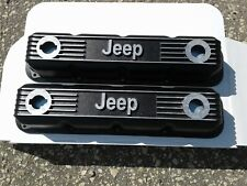 Nos Jeep Mopar Performance Black Aluminum Magnum Small Block Valve Covers 360