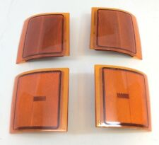 Chevrolet Silverado Tahoe Surburban C/K Front Side Marker Lamp Kit 4 pc new OEM