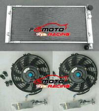 Radiador Aluminio para VW Golf 2 Corrado VR6 Turbo 16V G60 VWO2 MT 1.8/2.9L FANS