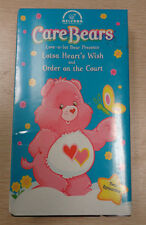CARE BEARS Lotsa Heart's Wish VHS Order On the Court NEW Love-A-Lot 2002 Sealed