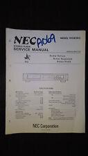 NEC t610 e bu Service Manual Original Repair book stereo tuner radio