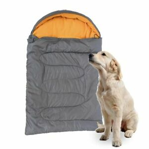 Dogs with Storage Bag Cave Dog Camping Bed Pet Sleeping Bag Cat Cushion Dog Bed
