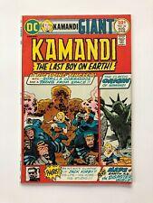Kamandi #32 *Giant issue*  [Kirby photo cover] DC Comic Book MO4-95