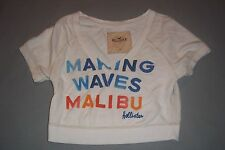 Hollister Making Waves Malibu Half T-Shirt Womens Juniors Small