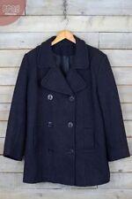 Cappotti e giacche da uomo in lana blu con colletto