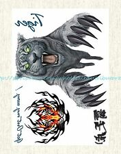 """US SELLER, guy men tiger 8.25""""extra large temporary arm fake tattoos for sale"""