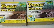 Lot of 2 boxes - Tomcat Mole Killer • 10 Worm Formula new