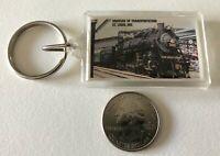 Museum Of Transportation St. Louis Missouri Railroad Trains Keychain Key Ring