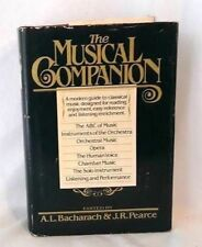 Musical Companion Guide Classical Reference Orchestra Chamber Bacharach Pearce