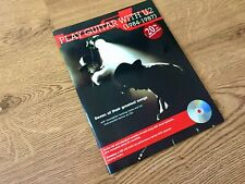 WOW! Excellent Condition Play Guitar With U2 (1984-1987) Paperback Book With CD
