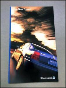1998 VW Volkswagen Passat 18-page Factory Original Car Sales Brochure Catalog