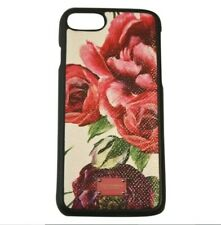 Dolce&Gabbana Floral iPhone 7 & 8 Leather Case Dolce Gabbana Cover