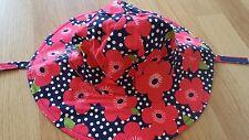 Gymboree per neonate Brillante Rosa/Blu Cappello Da Sole 0 - 12 mnths NUOVO CON ETICHETTA