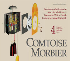 COMTOISE MORBIER, dictionary all parts French grandfather clock + 6 x 3D-drawing
