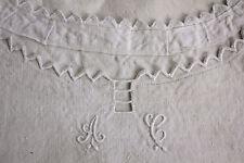 Antique / Vintage French chemise night dress nightdress SUMMER sleeveless AC