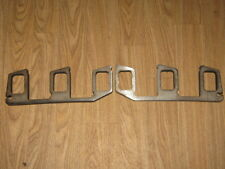 Slant 6 Six Dodge Mopar 225 Exhaust Manifold Header Flanges 304 STAINLESS STEEL