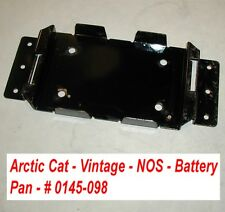 Electric Start Battery Pan  # 0145-098 NOS Arctic Cat Puma Vintage