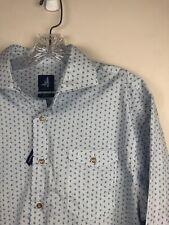 Johnnie-O Bassett Print Tweener Button Mens L/S Printed Dress Casual Shirt NEW M