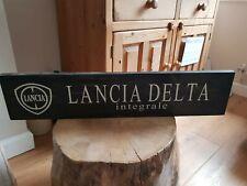 Lancia Delta Integrale evo 2 hf 16v turbo Retro Wooden Sign classic car bespoke