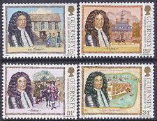 Guernsey 1987 350th Anniv Birth of Sir Edmund Andros Set UM SG400-3 Cat £3.25