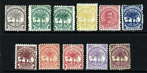 SAMOA 1895 Definitive Set Perf.11 SG 57 to SG 64b MINT