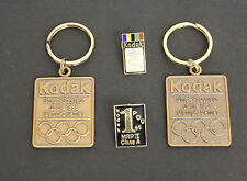 1988 Kodak Seoul Olympic Games Limited Edition Seal Key Rings and Pins