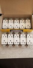NIB LOT OF 10 HUBBELL IG20DRWHI ISOLATED GROUND RECEPTACLES 20A 125V NEMA 5-20R