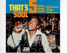 CD THAT'S SOUL 5atlantic EX (A0919)