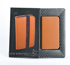 HEX iPhone 4 4s Code Wallet Leather Case Cover w Card Slots BRITISH TAN orange