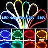 Waterproof LED Flexible Neon Lights 5050 Party Valentine Decor Light 220-240V UK