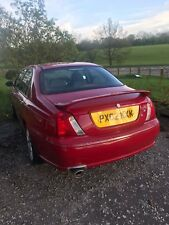 2002 MG ZT 160 SALOON RED
