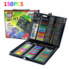 150pc color Drawing Pen Set Painting Pen Pencil Pastels for Kids Xmas Toys Art