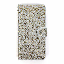 Jewelled Synthetic Leather Mobile Phone & PDA Cases & Covers for Samsung